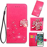 Huawei Y5 男性用 ポケット Moonmini Protective Skin Double Layer Bumper Shell Shockproof Impact Defender Protective Case 男性用 for Huawei Y5, Hot Pink