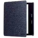 【 Kindle Oasis (第9世代、第10世代)用】 Amazon純正 ファブリックカバー チャコールブラック
