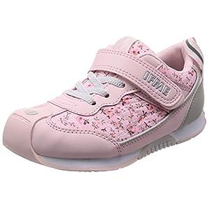 [イフミー] 運動靴 Jog 30-8013 ピンク 16.5 cm 3E