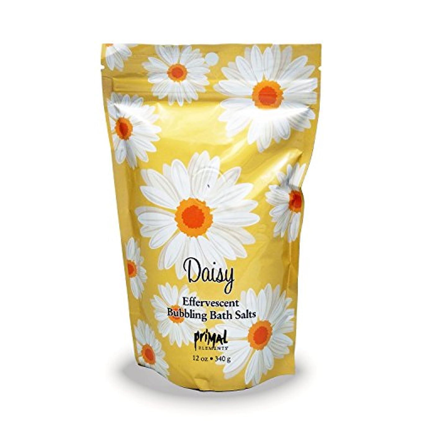 居間ほとんどない信頼性のあるプライモールエレメンツ バブリング バスソルト/デイジー 340g エプソムソルト含有 アロマの香りがひろがる泡立つ入浴剤