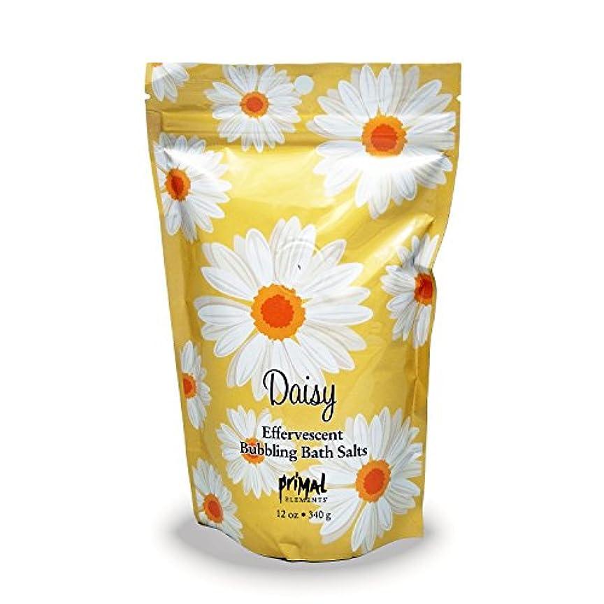 ダース指定する艶プライモールエレメンツ バブリング バスソルト/デイジー 340g エプソムソルト含有 アロマの香りがひろがる泡立つ入浴剤