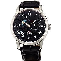 [オリエント]ORIENT 腕時計 自動巻 クラシックオートマチック 海外モデル 国内メーカー保証付き Sun&Moon(サン&ムーン) ブラック SET0T002B0