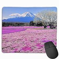 美しい日本 美しいマウスパッドゲームマウスパッド滑り止め25 X 30厚さと耐久性
