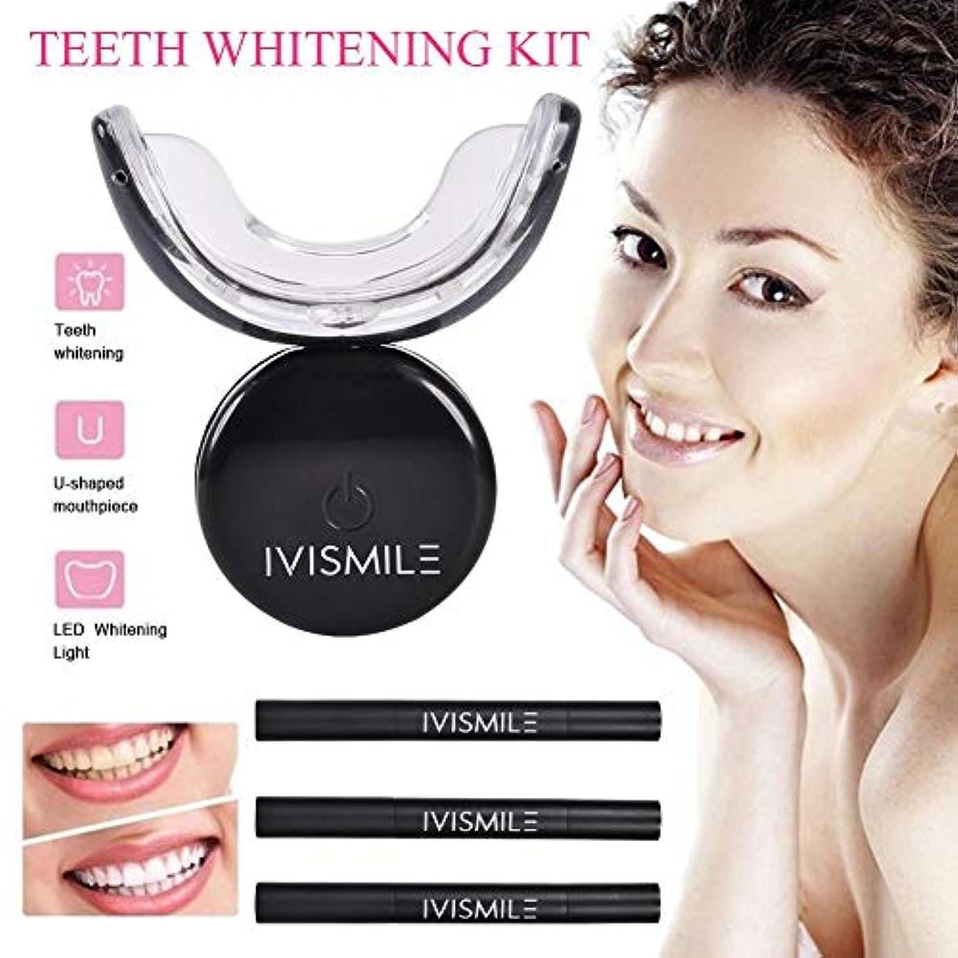 詩キャスト貢献するMing-Dian 歯のホワイトニングキットブルーLEDライトスマートホワイトニングシステム