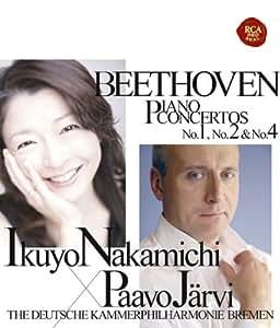ベートーヴェン:ピアノ協奏曲第1番&第2番&第4番
