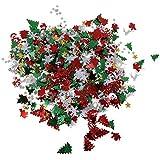 Baoblaze 約50g クリスマス 紙吹雪 エルク スノーフレー おもちゃ サンタ パーティー飾り