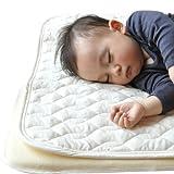 西川リビング ベビーキルトパッド 防水シーツ 2点セット 日本製 [Baby Product]