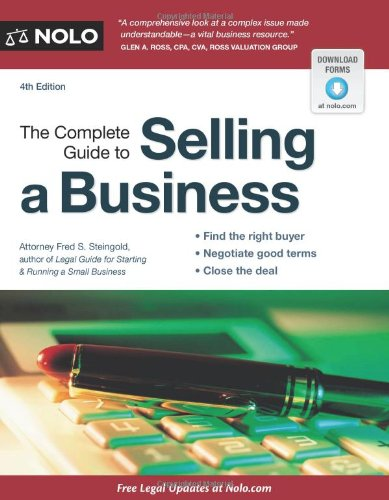 Download The Complete Guide to Selling a Business 1413312667