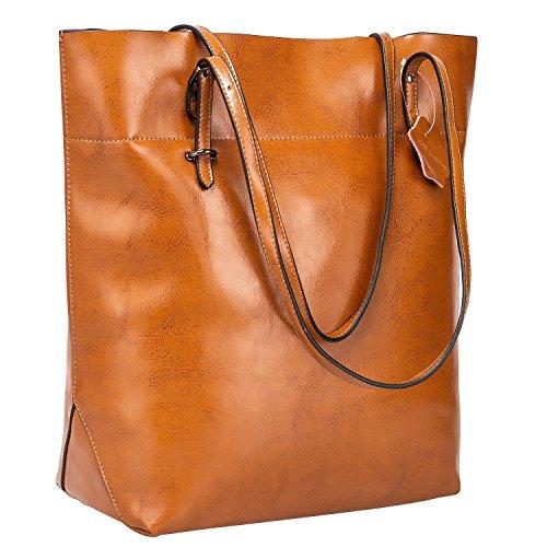 [해외]S-ZONE 가죽 토트 백 여성 심플 세로 형 가방 숄더백/S - ZONE real leather tote bag ladies simple vertical type bag shoulder bag