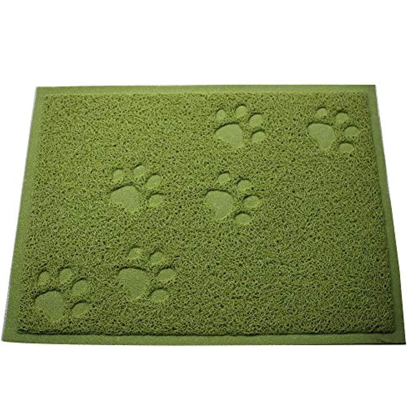 滞在スパン聖なるNXWLGS ペットパッド、スクエアパッド、携帯用ごみパッド、簡単にきれいな (色 : Apple Green)