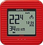 キャットアイ(CAT EYE) CATEYE FIT [CC-PD100W] 歩数計機能 レッド