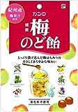 カンロ 健康梅のど飴 90g×6袋