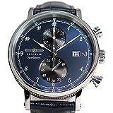 [ツェッペリン] ZEPPELIN 腕時計 7578-3 ノルドスタン クォーツ 41MM レザーベルト [並行輸入品]