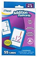Mead Addition Flashcards 55 Cards Grades K-3 (63034) 【Creative Arts】 [並行輸入品]