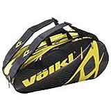 VOLKL(フォルクル) メガ バッグ 2015 ラケットバッグ 8~10本入れ イエロー×ブラック V74001