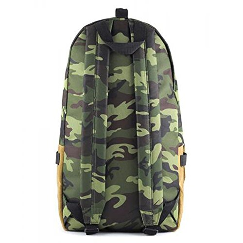 Supe Design Camouflage Printed Nylon Day Backpack Camouflage md021 (Size os) [並行輸入品]
