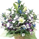 お供え アレンジメント 生花 お供え 花 供花 家族葬 お悔やみ 生花 サンモクスイの手作り