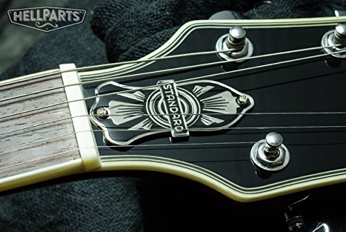 ギター ロッドカバー 2つ穴 STANDARD 100%真鍮&エナメル Hell Guitarsオリジナルデザイン