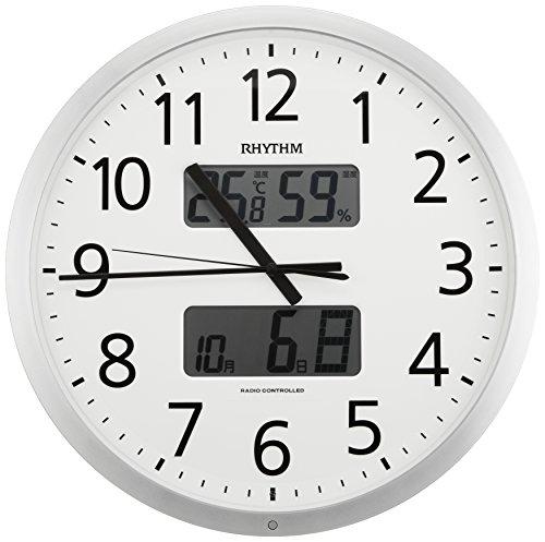リズム時計 RHYTHM 電波 掛け時計...