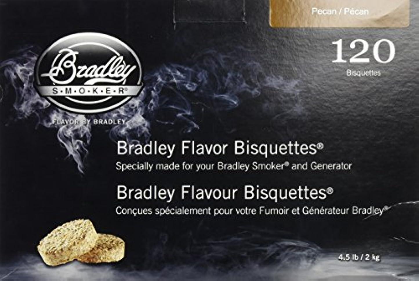 ディーラー昨日馬鹿げたBRADLEY PECAN SMOKERS BISQUETTES (PACK OF 120)