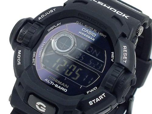 カシオ CASIO Gショック G-SHOCK ライズマン デジタル ツインセンサー 腕時計 G9200BW-1 メンズ [ 並行輸入品 ]