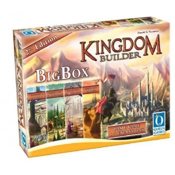キングダムビルダー Kingdom Builder Big Box 2nd Edition 日本語ルール付属 [並行輸入品]