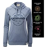 Kathmandu Women's Earthcolours Hooded Pullover Jumper Hoodie Top