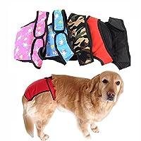 Skybright マナーパンツ サニタリーパンツ しつけ用品 サスペンダー付き つなぎ ズボン 生理用 犬の発情期