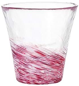 アデリア 津軽びいどろ 12色のグラス 桜 さくら F-71445