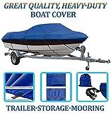 ブルー、素晴らしい品質ボートカバーfor Nitro 640LX SC W /トロールMTR 98- 03040506