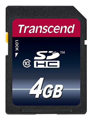Transcend SDHCカード 4GB Class10 ...