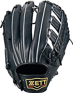 ゼット(ZETT) 硬式野球 プロステイタス グラブ (グローブ) 外野手用 ナイトブラック(1900N) 右投げ用 日本製 BPROG870
