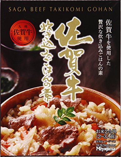 宮島醤油 佐賀牛 炊き込みご飯の素 180g