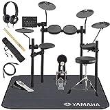 YAMAHA / DTX452KUPGS 電子ドラム ヤマハ純正ヘッドホンとスティックとマットセット