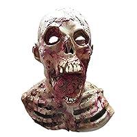 BESTOYARD ハロウィーンのマスク血の落ちる人間の頭蓋骨のマスクホラーモンスターゾンビのコスチュームパーティーマスク
