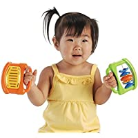 CP Toys 4 pc. Easy-grip Plastic Rhythm Band Instruments for Toddlers by Constructive Playthings [並行輸入品]