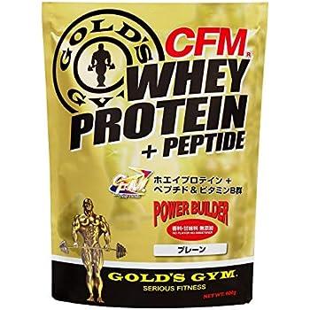 ゴールドジム(GOLD'S GYM) CFMホエイプロテイン プレーン 2kg