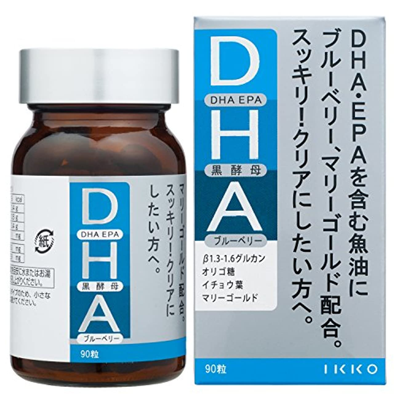ほこりっぽい表示異常な一光化学 DHA 90粒入
