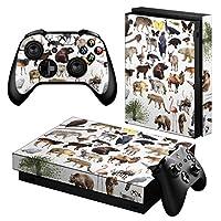igsticker Xbox One X 専用 スキンシール 正面・天面・底面・コントローラー 全面セット エックスボックス シール 保護 フィルム ステッカー 008845
