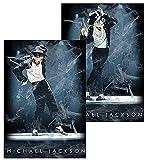 生誕60周年 MICHAEL JACKSON マイケルジャクソン - (絶版ポスター)Michael Jackson 3D立体 / ポスター 【公式/オフィシャル】