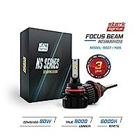 Stark N2S Series [UPGRADED] 80W High Beam/Low Beam Conversion Kit - 9000LM - 6000K Crystal White - Bulb Size: 9007/HB5 [並行輸入品]