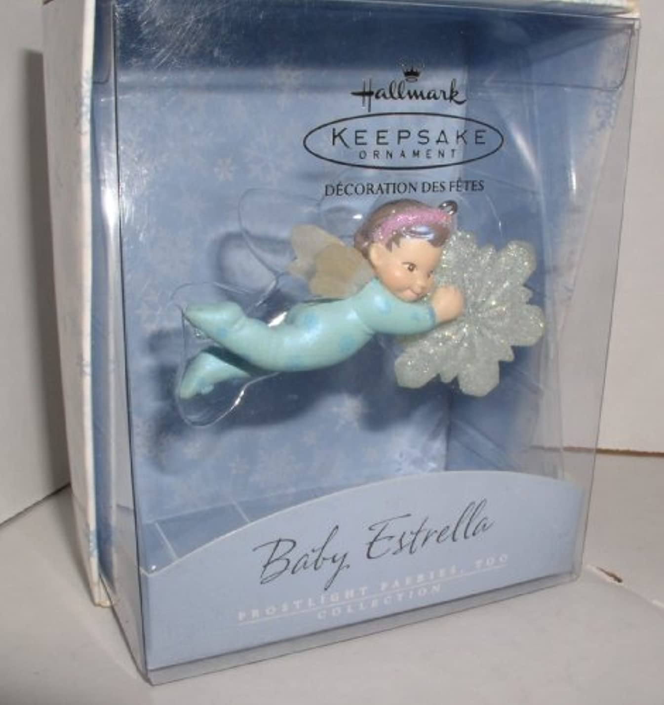 導入する傾向から聞くBaby Estrella Frostlight Faeries, Too Series 2002 Hallmark Ornament QP1663 by Frostlight Faeries