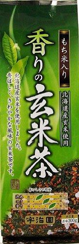 宇治園 香りの玄米茶 200g×10