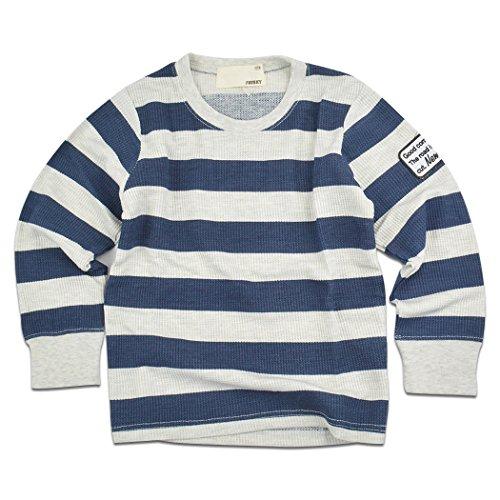 (シスキー) shisky ロングTシャツ 長袖 ワッペン tシャツ キッズ プリントTシャツ ジュ...
