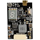 Wolfwhoop Q1-Upgrade 5.8GHz 0.01/25/200/600/1200mW 40CH Switchable FPV Transmitter with MMCX and FC Uart Support Telemetry via Betaflight Flight Controller -Long Range Version