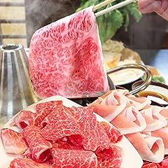 讃岐オリーブ牛&讃岐オリーブ豚しゃぶしゃぶ6人前セット 野菜・うどん付き 《*冷蔵便》