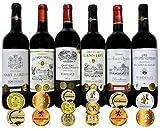 ALLダブル金賞受賞(トリプル金賞1本入)赤ワイン6本セット フランス ボルドー産 ソムリエ厳選 750ml×6本