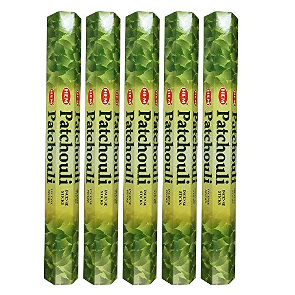 読者アウター兵器庫Hemパチョリ100 Incense Sticks (5 x 20スティックパック)