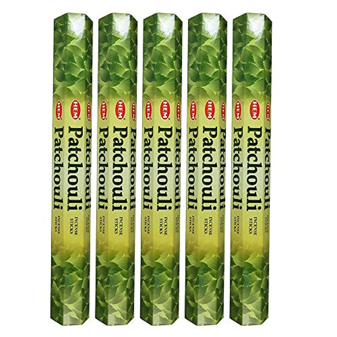 マイクロおなじみの付与Hemパチョリ100 Incense Sticks (5 x 20スティックパック)