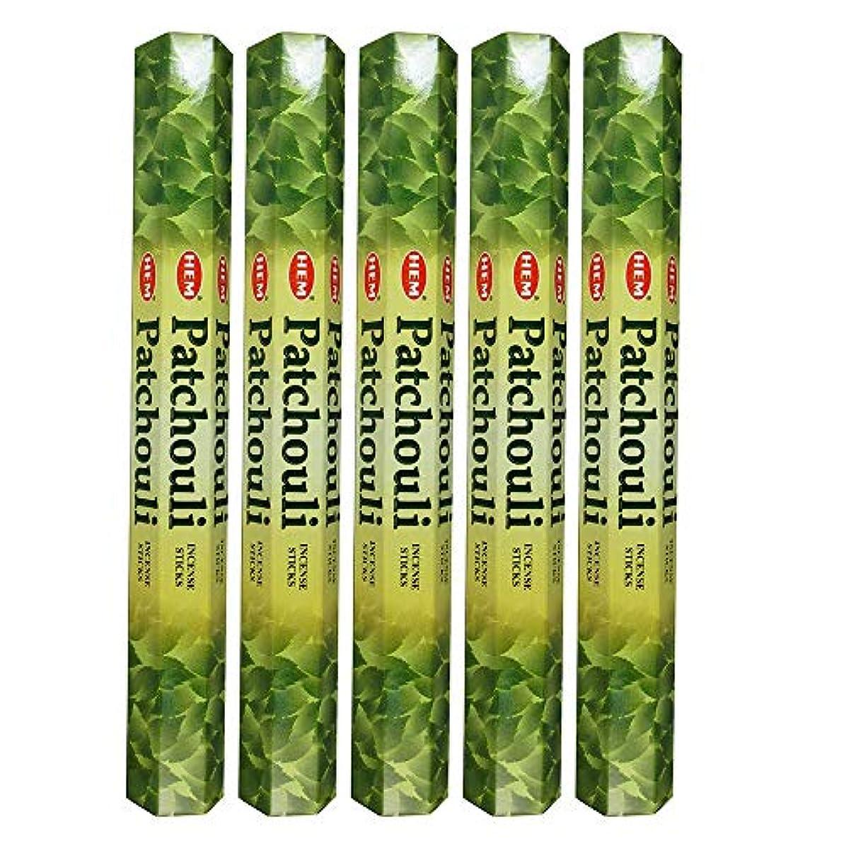 無心運動する回転させるHemパチョリ100 Incense Sticks (5 x 20スティックパック)